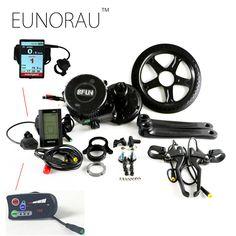 Free shipping 36V250W bafang e-bike kit  latest controller crank Motor kit BBS01 electric bicycle kit