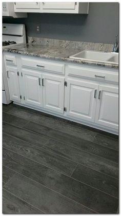 Snapstone Weathered Grey 6 In X 24 In Porcelain Floor