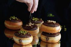 Receta de berlinesa o berlinas rellenas de nutella - repostería de Alemania Tradicionalmente se rellena de mermelada de ciruela