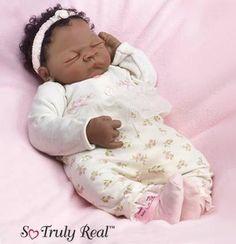 Image detail for -... Webb - Ciara, African American Baby Doll - 2006 Ashton Drake Dolls