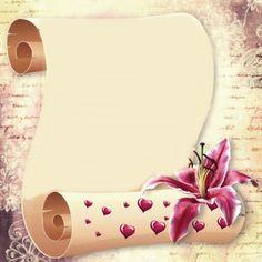 ✼ ✻ ✺ ✹ ✸ ✷ ₪ ❃ ❂ ❁ ❀ Gold Abstract Wallpaper, Flower Wallpaper, Flower Picture Frames, Flower Frame, Flower Border Clipart, Paper Background Design, Molduras Vintage, Pin Up Drawings, Free Printable Stationery