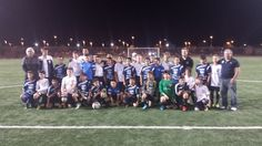 Sharing with Cook Inlet, from Alaska, after a very good game Soccer Demilio, u12, Las Vegas Mayor's Cup 2014