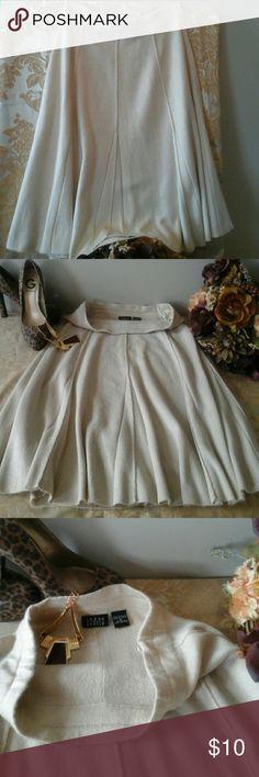 "Pretty flair Skirt👠 Good  used condition,  pre-loved, nice flow, 28"" elastic waist (with room) length 26"", comfortable wear, 100% acrylic. 👠 Joyce Leslie Skirts Midi"