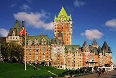 Fairmont Le Cau Frontenac Quebec City Best Of Canada 2017