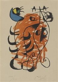 Artwork by Joan Miró, La boite alerte, Made of lithograph in colours