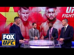 MMA The UFC on FOX crew talks about Michael Bisping's fight against Kelvin Gastelum | UFC ON FOX