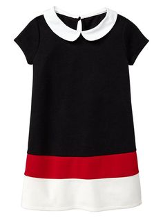 Peter Pan colorblock dress Product Image