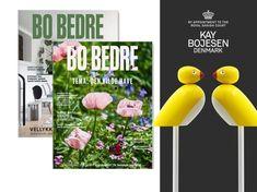 Få 3 nr. af BO BEDRE + Kay Bojesens spurve | Bonniershop Denmark, Menu, Bottle, Inspiration, Menu Board Design, Biblical Inspiration, Flask, Jars, Inspirational