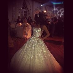 My 100,000 + Hand places Swarovski crystal wedding dress designed by me MBridal