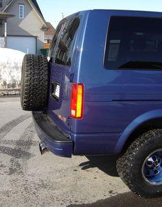 Chevy Astro Van, Chevrolet Astro, Gmc Safari, S10 Blazer, Camper Van, Van Life, 4x4, Mini Vans, Car Stuff