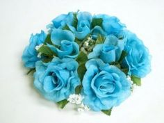 Turquoise Wedding Bouquets | The Wedding Specialists