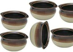 NEW  10 oz. (Ounce) French Onion Soup Bowl  Crock Bowl  Single-Serving  Ceramic