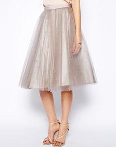 Image 4 ofCoast Cordelia Sparkle Skirt