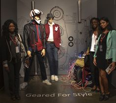 Geared For Style. Redefining Design 2015. Visual Merchandising Arts, School of Fashion at Seneca College.