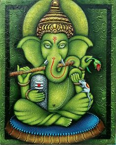 Ganesha Painting, Lord Ganesha, Art Drawings Sketches, Texture Painting, Paintings, Life Quotes, Crafts, Fashion Design, Quotes About Life