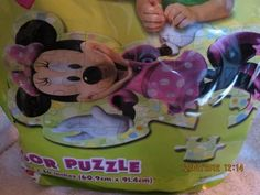 Disney Minnie Mouse Bow-tique Floor Puzzle by Cardinal Industries. $26.00