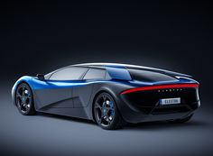 the elextra is a swiss-designed electric supercar built to rival tesla
