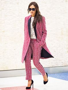 7 Office Outfit Ideas From Your Favorite Celebrities via @WhoWhatWear