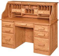 roll top desk   ... -Amish-Furniture-Farmers-Roll-Top-Desk-Amish-Roll-Top-Desk-270.jpg