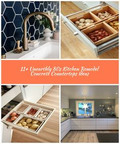 5 Delicious Clever Tips: Kitchen Remodel Countertops Appliances kitchen remodel granite counter tops.Kitchen Remodel Modern Layout 70s kitchen remodel awesome.Kitchen Remodel Black Appliances Granite.. küche 11+ Unearthly 80s Kitchen Remodel Concrete Countertops Ideas