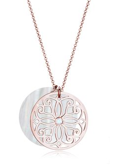 Elli Premium Necklace in rose gold plated - a great match to your outfit