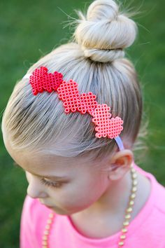 Valentine's Day Hair Accessories | Valentine's Day Kids Crafts