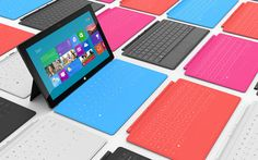 Microsoft launches Microsoft Surface.
