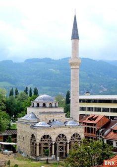 Fedhidiji Mosque in Banja Luka, Bosnia & Herzegovina Islamic World, Islamic Art, Islamic Quotes, Mosque Architecture, Art And Architecture, Beautiful Mosques, Beautiful Places, Banja Luka, Place Of Worship