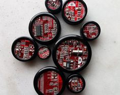 Image result for mixed media  circuit boards