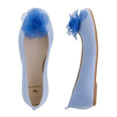 Tulle rose ballet flats
