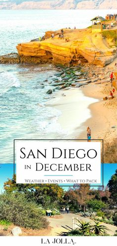 What San Diego in December is like. I live here and share tips for the weather, holiday events, what to pack, things to do, and hotels. Get all the details here at La Jolla Mom