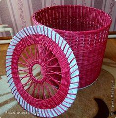 Поделка изделие Плетение Я сделала это Трубочки бумажные фото 1
