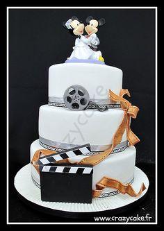 Disney film theme cake