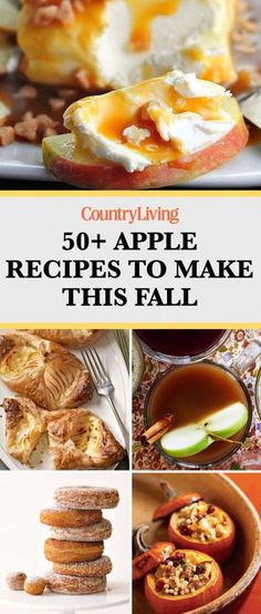 Save these fall apple recipes for later by pinning this image and follow Country Living on Pinterest for more.