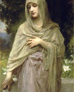 Modestie  by William Bouguereau (ARC)