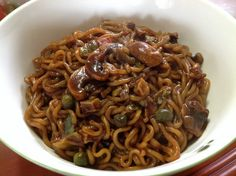 My noodles that I cooked