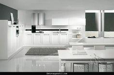 awesome Beyaz ankastre mutfak modelleri 2016