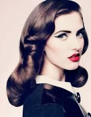 Retro 50s Makeup