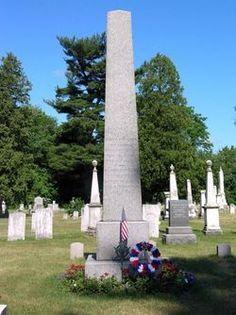 Famous Headstones>Martin Van Buren-The Eight President of the United States.