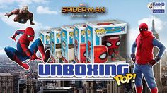 Unboxing de los Funko Pop! regulares de la película Spider-Man Homecoming