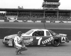 Third-generation driver Kyle Petty brought a fresh face -- and a new car number -- to the Wood Brothers in 1985. He also brought two victories, his first in what is now the Monster Energy NASCAR Cup Series, during his '85-'88 stay.