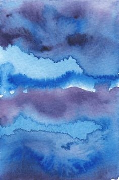 Watercolor wash - easy to do even if you don't have artistic talent!