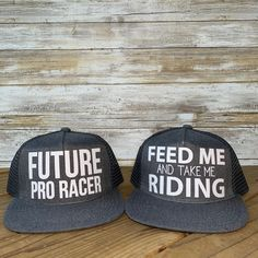 Toddler Youth Future Pro Race Feed Me and Take Me Riding Snapback - Dirt  Bike Motocross Motorcycle Moto Mom Racing Dirt Track Bicycle. Custom Hats  ... c321379afbd