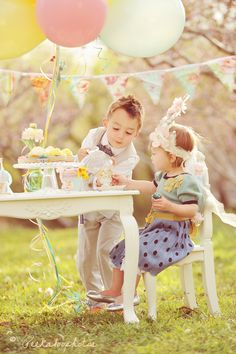 30 Second Mom - Katie Lewis: 3 Kids' Birthday Party Themes You May Want to Consider Best Picture For Astrology party ideas For Your Taste You are looking for something, and it is going to tell you exa Girls Tea Party, Tea Parties, Inspiration For Kids, Bedroom Inspiration, Children And Family, Children Poses, Art Children, Party Photos, Birthday Party Themes