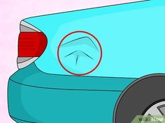 Image titled Remove a Dent in Car With a Hair Dryer Step 1
