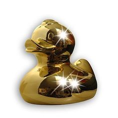 Gold plated rubber ducky