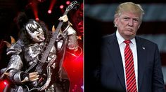 """""""He is the truest political animal I've ever seen onstage,"""" Kiss vocalist-bassist says"""