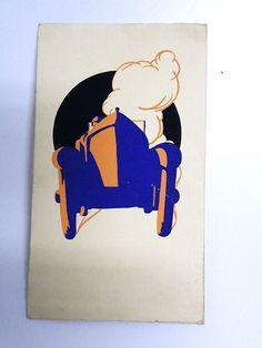 Lithographie Art Deco Oldtimer Diner Karte 1926 Die Dinerkarte / Speißekarte ist sehr ausgefallen Original von 1926 Groot Badhuis Zandvoort CONCOURS DE CAROSSERIE Holland Zandvoort Originalzustand. $60.00