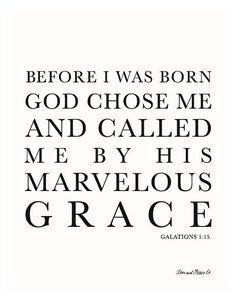 Galatiions 1:15