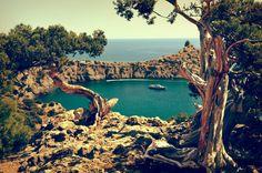 обработка, photoshop, пейзаж, море, путешествие